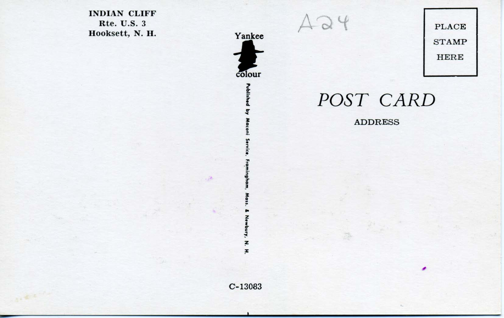 Standard size of a postcard