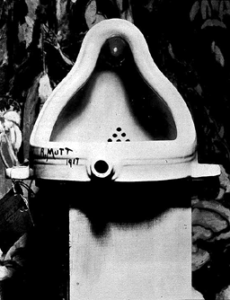 [Duchamp: Fountain]