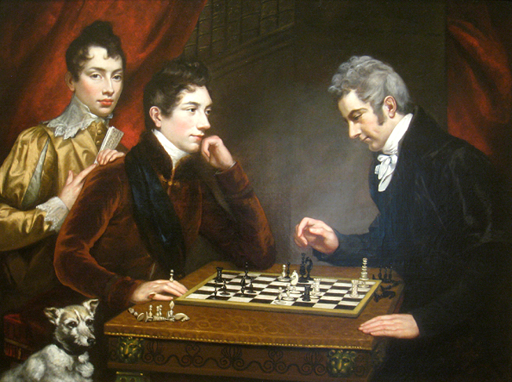 [Northcote: The Chess Players]